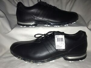 Adidas Adipure TP golf shoes Black Leather Mens Size 13 NWOB!