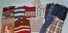 Lot Boys clothes Gymboree-OshKosh-Gap-The Childrens Places-Lego belts size 7-8
