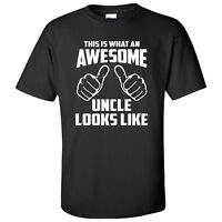This is What an Awesome Uncle Looks Like Unisex T-Shirt