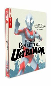 Return of Ultraman Blu-ray Digital New Discs Complete Series SteelBook Edition