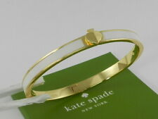 kate spade new york Gold-Tone & Colored Enamel Spade Bangle Bracelet