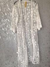 Bnwt Lace White Kimono Size S/M