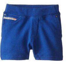 $39 NEW Diesel Baby Infant Boys 36M Sweat Fleece Shorts Blue Front Back Pockets