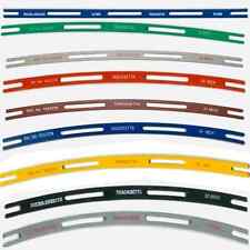 Full set Tracksetta N/OO9 Track Laying Templates, straight & curves - free post