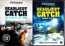 DEADLIEST CATCH COMPLETE SEASONS 1-12 DVD BOXSETS BRAND NEW & SEALED