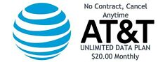 Unlimited Lte 4G 5G Hotspot Data & Sim Kit - $20 a Month No Contract!