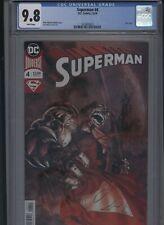 Superman #4 CGC 9.8 Brian Michael Bendis FOIL COVER Ivan Reis