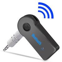Mini Wireless Bluetooth Car Kit 3.5mm Dongle Jack Aux Audio Receiver Adapter YR