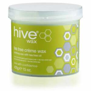 Hive Options Tea Tree Cream Wax - With Natural Antiseptic Qualities - 425g