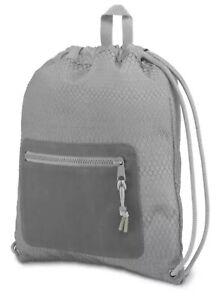 JanSport JS0A3P2A Men's Women's Ascent String Bag Backpack, 976 Cu In / 16 L