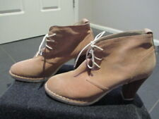 Emma Kate Women's Suede High Heel Ankle Boots (High Heeled Desert Boots) EUR 41
