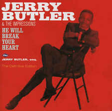 JERRY BUTLER & the Impressions - He will break your Heart CD 012 soul C Mayfield