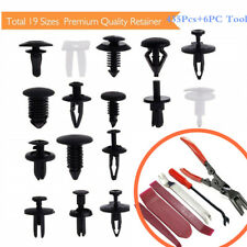 435Pcs Car Bumper Door Panel Fender Fastener Clips Retainer Rivet + 6PC Tool