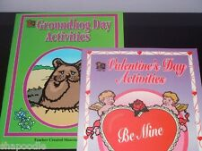 2 Books Of Activities by Teacher Created Resources New (school, clubs, home)