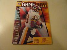 Washington Redskins Lions 10/22/95 GameDay Program Brian Mitchell Super Bowl Vii