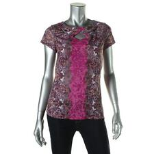 INC International Concepts Women's Regular Cap Sleeve Sleeve Casual Tops & Blouses