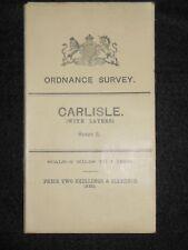Vintage Ordnance Survey (O/S) Map of Carlisle - 1908 - Sheet 2 - Cumbria, Layer