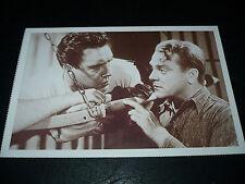 WHITE HEAT, German postcard [James Cagney, Edmond O'Brien] - Raoul Walsh film