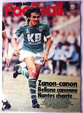 FRANCE FOOTBALL du 15/12/1981; Jean Louis Zanon/ Histoire mondial Français