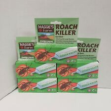 Maggies Farm Roach Killer Gel Bait Kills Small and Large Roaches - 5 Pack!