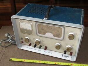 Vintage Advance L.F. Signal Generator Type SG66 Radio Repair England - Untested