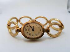 NOS New Old Stock-Vintage Edelstahl Emes Lady Armband 70er Jahre Uhr-Top-147