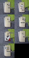 Snoopy Cartoon Transparent Silikon Case Schutzhülle für iPhone 5 5S SE 6 6S 7 8