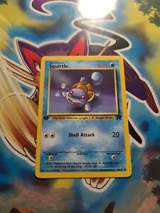 Pokemon Card Squirtle 66/82 - Team Rocket 1st Edition - Nr Mint / MINT