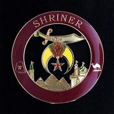 Die Cast Auto Emblem - Shriner (SHA-200)