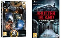 Mystery Places  & shutter island the adventure game  new&sealed
