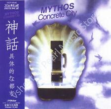 MYTHOS - CONCRETE CITY ( MINI LP AUDIO CD with OBI ) Stephan Kaske