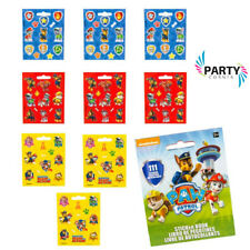 Paw Patrol Party Supplies Favours STICKER BOOK 9 Sheets 111 Stickers Genuine