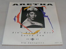 ARETHA FRANKLIN Aint Nobody Ever Loved You Ex+ 1986 UK P/S 7""