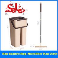 OLYMPICS Hardwood and Floor Microfiber Mop Cleaner Starter Kit Trap Grime Deep