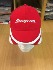 Genuine Snap-On Tools Red & White Embroidered Baseball Cap Brand New