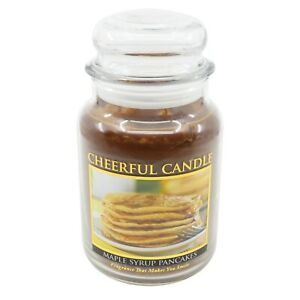 Maple Syrup Pancakes Scented Candle 24 oz Cheerful Candle CC58