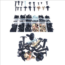 180PCS Self - Tapping Screw Fast Wire Screw Metal Carbon Steel Fastener Clip