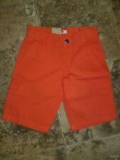 Boys Levi's Levi Strauss Cargo Shorts Orange Adjustable Waist 8 Regular