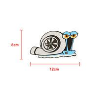 Funny Turbo Snail Motor Car Sticker Styling Bumper Window Decal Car Decor Top