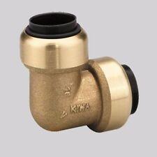 Winkel Steckverbinder 90° 18mm aus Messing für Druckluft