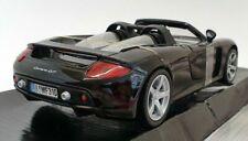 Porsche Carrera GT - Black, Classic Metal Model Car, Motormax 1/24