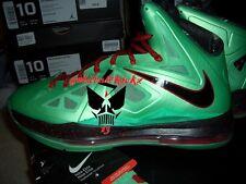 nike lebron x 10 cutting jade green diamond 10.5 christmas CHINA