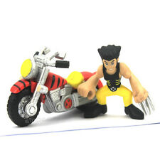MARVEL SUPER HERO SQUAD X-MEN WOLVERINE & MOTOBIKE FIGURE COOL BOY FG100