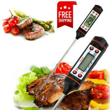 Digital Electronic Food Meat Thermometer Kitchen Cooking BBQ Grill Instant Read~