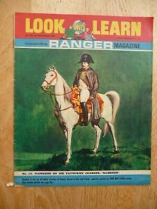 Look And Learn No.259, 31st Dec 1966 - Napoleon On His Favourite Charger