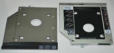 2nd HDD SSD Hard Drive Caddy for HP EliteBook 2560p 2570p + Faceplate / Bracket