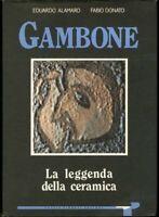 Guido GAMBONE Italian Ceramics Book 50s Mid Century Modern Marcello Fantoni era
