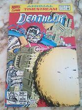 Deathlok Annual #1 Nm- Deathlok Scrapbook 1 Punisher 1 Fantastic Four 1992