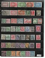 #6130  Small stamp set / GERMANY /  All different before 1930 / German states
