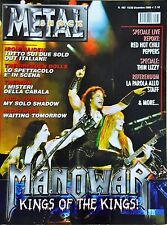 Metal Shock 463/2006 Manowar Iron Maiden Red Hot Chili Peppers Thin Lizzy